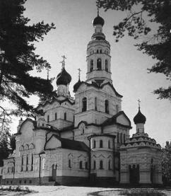 Zelenogorsk. Church of Our Lady of Kazan.