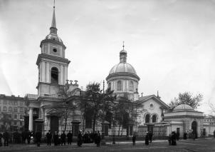Holy Virgin Intercession Church. Photo, the early 20th century.