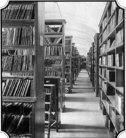 Library of St.Petersburg University. Photo, 1898.