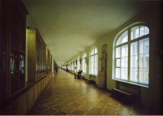 St.Petersburg State University. The Grand Corridor.