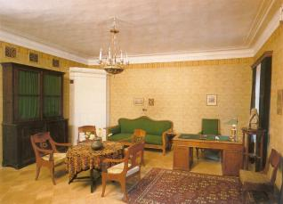 Museum Apartment of A.A.Blok. Poet's study.