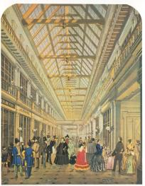 View of the Passage Mall. By P.P.Semechkin. Mid-19th century.