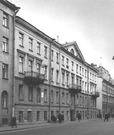 House in the Kazanskaya Street, where A. Mickiewicz lived.