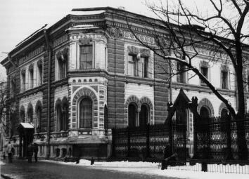 K.K.Rakhau. The Mansion of F.K.San Galli. 1869-70 (62 Ligovsky Avenue).