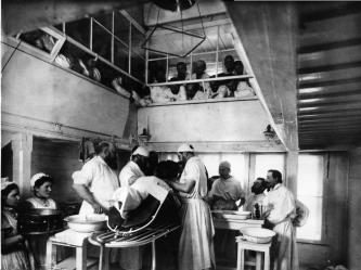 Operating Room of Eleninsky Maternity Institute. Photo, 1903.