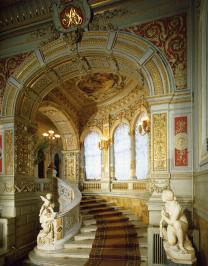 Vladimirsky Palace. The front staircase.