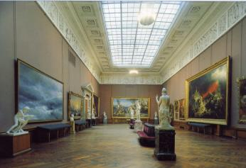 State Museum of Russian Art. The hall of K.P.Bryullov.