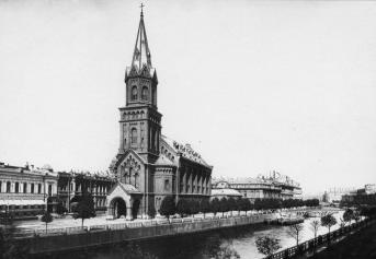 St. Peter's German Reformed Church. Photo by K.K.Bulla, 1900s.