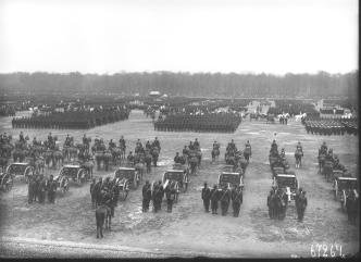 May Military Parade on the Field of Mars. Photo by K.K.Bulla.1903.