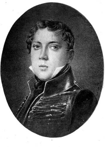 Pyotr Yakovlevich Chaadayev. From the portrait of the 1820s.