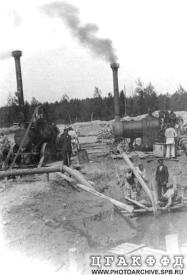Constructing of  the Tsarskoy Selo water-supply system.