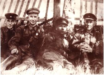 The 261st Partisan brigade.
